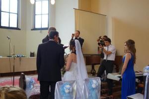 Svatba Lidušky a Davida